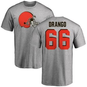 Spencer Drango Cleveland Browns Youth Pro Line Name & Number Logo T-Shirt - Ash